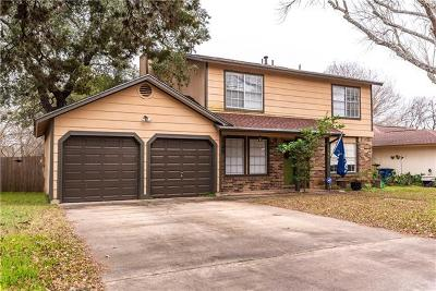 Hays County, Travis County, Williamson County Single Family Home For Sale: 1303 Cattle Trl