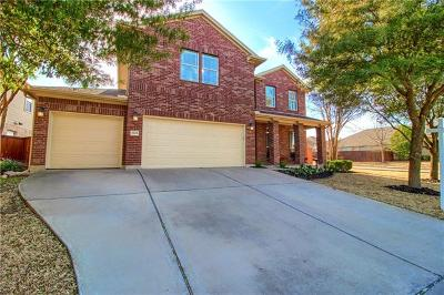 Round Rock Single Family Home For Sale: 1703 Westmeadow Trl