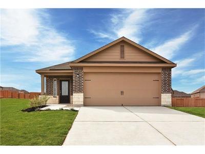 Manor Single Family Home For Sale: 13412 Herbert Hoover Dr