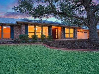 Travis County Single Family Home Pending - Taking Backups: 1601 Scottish Woods Trl