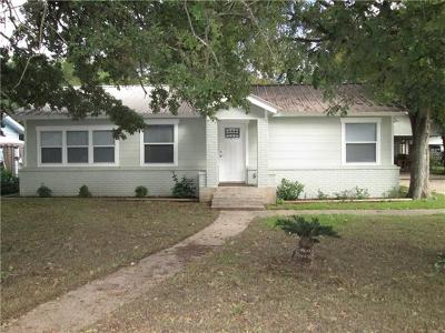 Burnet County Single Family Home For Sale: 1209 Sherrard St