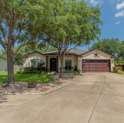 Leander Single Family Home For Sale: 3416 Napa Valley Bnd