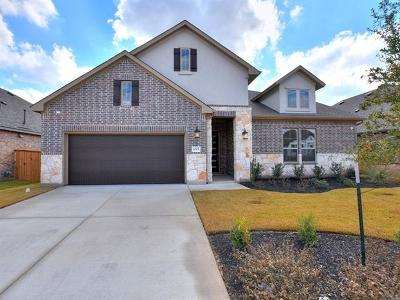 Round Rock Single Family Home For Sale: 4325 Hannover Way