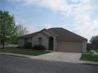 Lockhart Single Family Home For Sale: 633 Winecup Cir