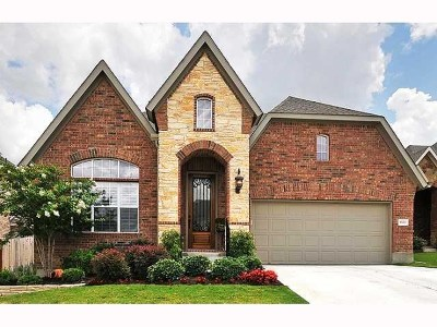Round Rock Single Family Home Pending - Taking Backups: 3803 Cypress Point Cv
