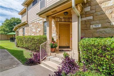 Round Rock Condo/Townhouse Pending - Taking Backups: 16100 S Great Oaks Dr #902