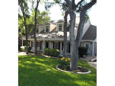 Salado Single Family Home For Sale: 2212 Bluff Cir