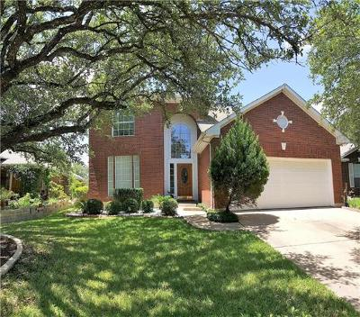 Round Rock TX Single Family Home For Sale: $315,000
