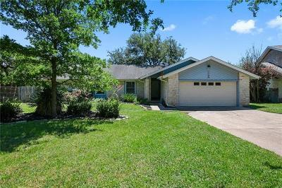 Round Rock Single Family Home For Sale: 1709 Ryon Ln