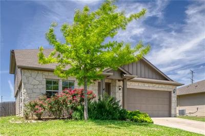 Hutto Single Family Home For Sale: 313 Lidell St