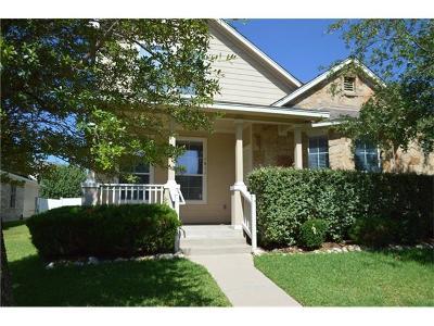Cedar Park Single Family Home For Sale: 1611 Colorado Bend Dr