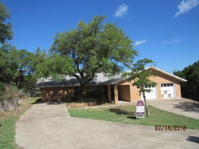 Lago Vista Single Family Home Pending: 3704 Austin Cv