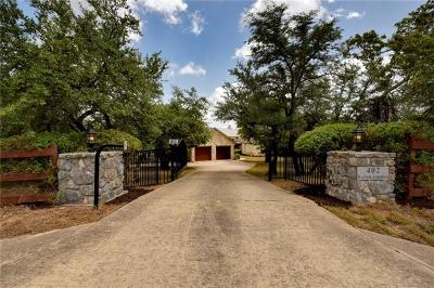Dripping Springs Single Family Home For Sale: 402 Saddlehorn Dr