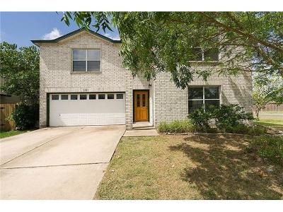 Round Rock TX Single Family Home For Sale: $236,000