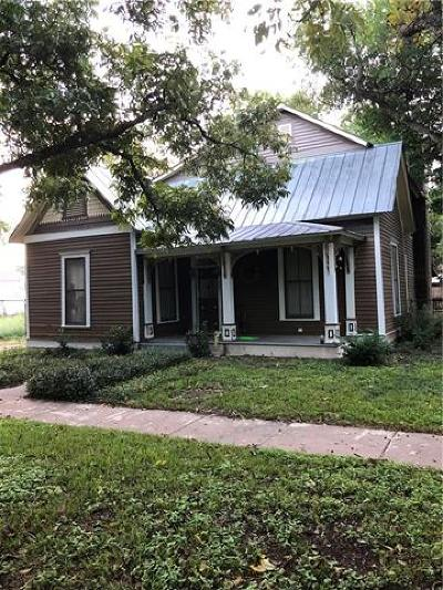 Smithville TX Single Family Home Pending - Taking Backups: $170,000