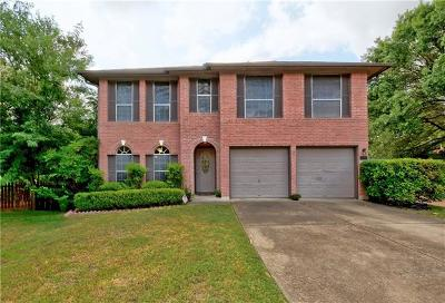 Travis County Single Family Home Pending - Taking Backups: 500 Kingfisher Creek Dr