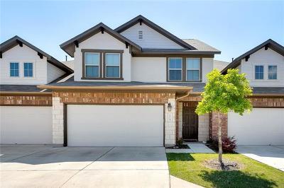 Cedar Park TX Condo/Townhouse For Sale: $275,000