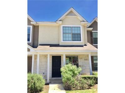 Cedar Park Condo/Townhouse Pending - Taking Backups: 401 Buttercup Creek Blvd #403