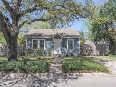 Single Family Home For Sale: 5100 Martin Ave