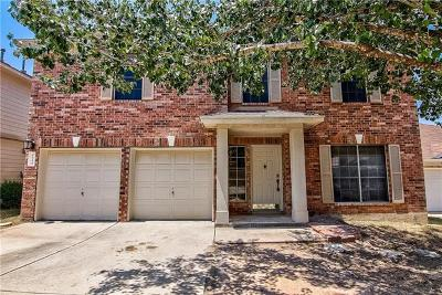 Round Rock Single Family Home For Sale: 1644 Diana Dr