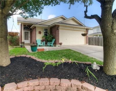 Pflugerville Single Family Home Pending - Taking Backups: 14804 Hyson Xing