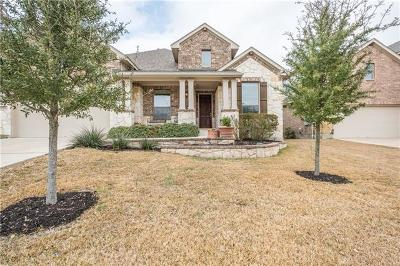 Cedar Park Single Family Home For Sale: 1508 Rimstone Dr