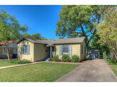 Travis County Single Family Home For Sale: 5308 Avenue F