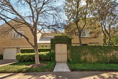 Austin Condo/Townhouse For Sale: 1109 Elm St #D