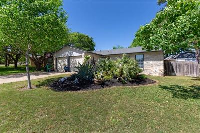 Pflugerville Single Family Home Pending - Taking Backups: 1600 Old Tract Rd