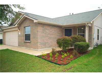 Kyle Single Family Home For Sale: 450 Carriage Way