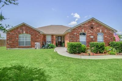 Hutto Single Family Home For Sale: 115 Blanco Dr