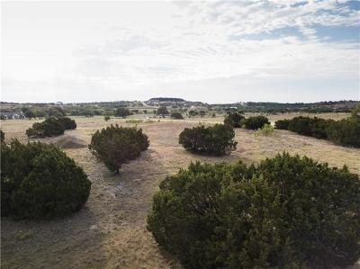 Marble Falls TX Residential Lots & Land For Sale: $339,000
