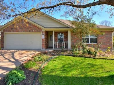 Pflugerville Single Family Home For Sale: 1202 Canna Lily Ln