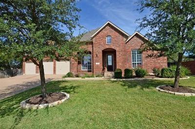 Round Rock Single Family Home For Sale: 4201 Greatview Dr