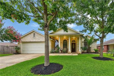 Round Rock Single Family Home For Sale: 2225 Pearson Way