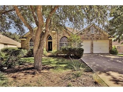 Cedar Park Single Family Home For Sale: 1006 Lone Buck Pass