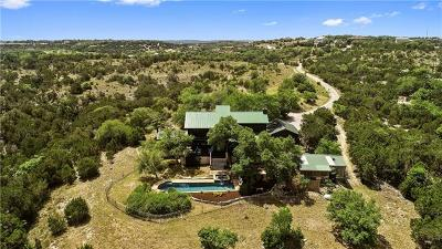 Dripping Springs Single Family Home Pending - Taking Backups: 11101 Bonham Ranch Rd