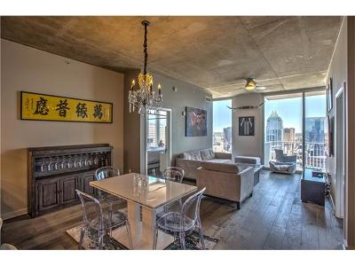 Condo/Townhouse For Sale: 360 Nueces St #2809