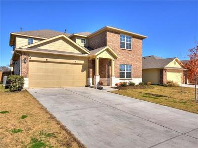 Hutto TX Single Family Home For Sale: $249,000