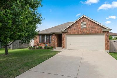 Leander  Single Family Home For Sale: 203 Sil Cv