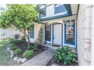 Travis County, Williamson County Single Family Home For Sale: 607 Bristlewood Cv