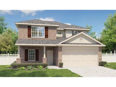 Round Rock Single Family Home For Sale: 2008 Birkby Ct