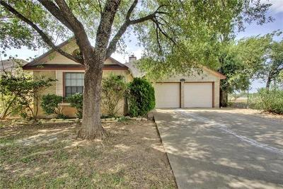 Round Rock Single Family Home For Sale: 1501 Lantana Dr