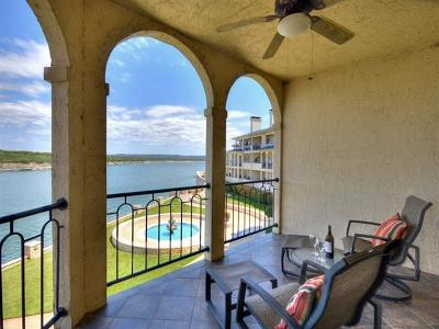 Lago Vista Condo/Townhouse For Sale: 3404 American Dr #2215