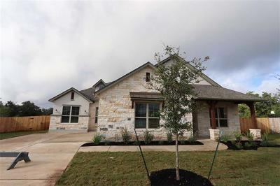 Dripping Springs Single Family Home For Sale: 164 Cats Eye Cv