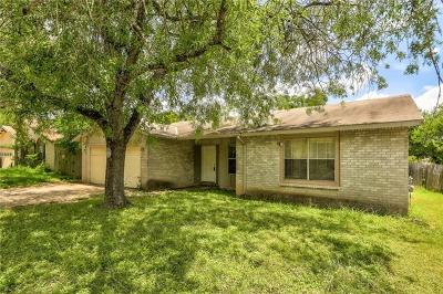 Austin Single Family Home For Sale: 1732 Cricket Holw