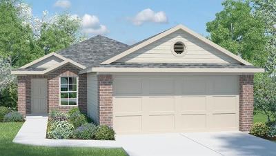 Pflugerville Single Family Home For Sale: 3420 Couch Dr