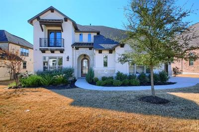 Leander Single Family Home For Sale: 3920 Venezia Vw