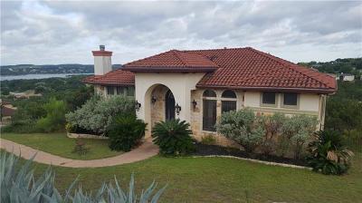 Lago Vista Single Family Home For Sale: 3206 Constitution Dr