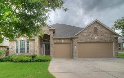 Pflugerville Single Family Home Pending - Taking Backups: 3316 Pasqueflower Pass